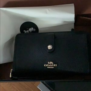Coach wallet never been used